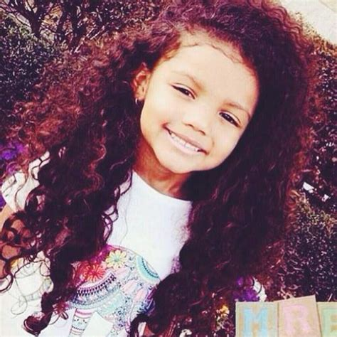 mixed girls with curly hair mixed race child tumblr