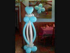 decoracion con globos para bautizo de ni 241 o nocturnar ideas para el bautizo de mi bebe