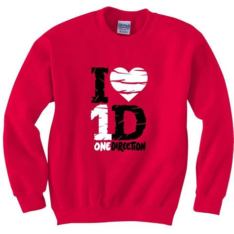 Sweater One Direction New One Direction Fan Sweatshirt Crewneck Sweaters I