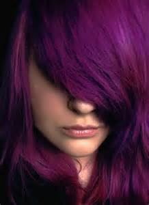 splat purple hair dye brown hairs