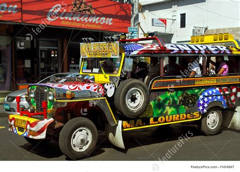 Colorful Jeeps Picture Of Colorful Jeepney