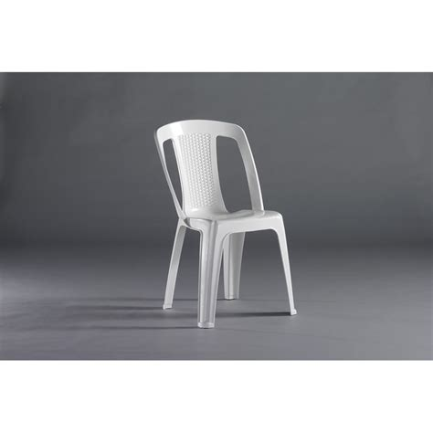 Resin Bistro Chairs Marquee White Elba Resin Bistro Chair Bunnings Warehouse