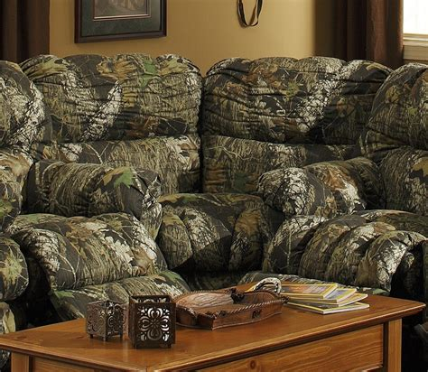 camo sectional couch camoflauge catnapper cuddler wedge would never buy this