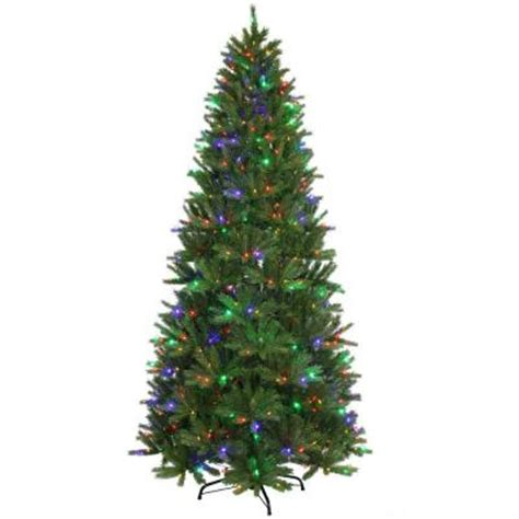 christmas tree needle retention types of real trees the home depot