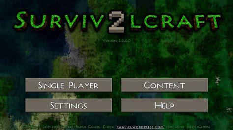 survivalcraft apk survivalcraft 2 apk gratis survivalcraft 2 0 0 apk