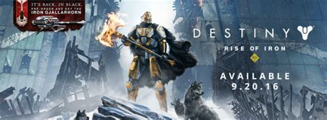 destiny 2 release date news 2016 rise of iron revealed coming out sept 20 destiny 2