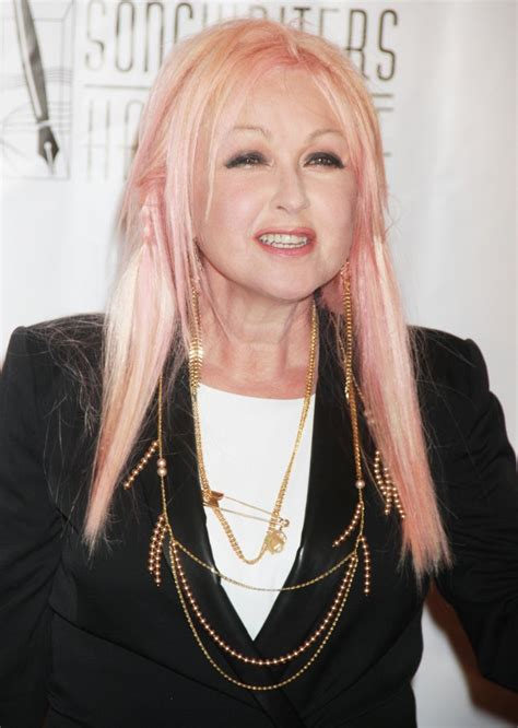 cyndi lauper cyndi lauper picture 74 songwriters hall of fame 2015