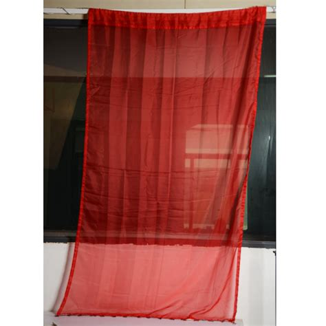 red bathroom window curtains modern 48 quot x 84 quot voile sheer panel lace door living room