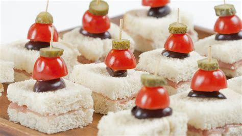 Appetizers For Cocktail Parties Easy - recipe prosciutto canap 233 s with cornichon skewers