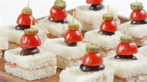 canap駸 recipe recipe prosciutto canap 233 s with cornichon skewers