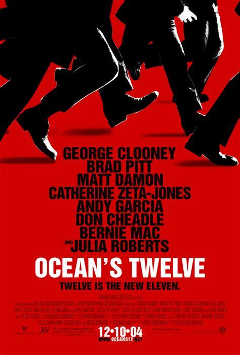 oceans twelve oceans twelve poster gif