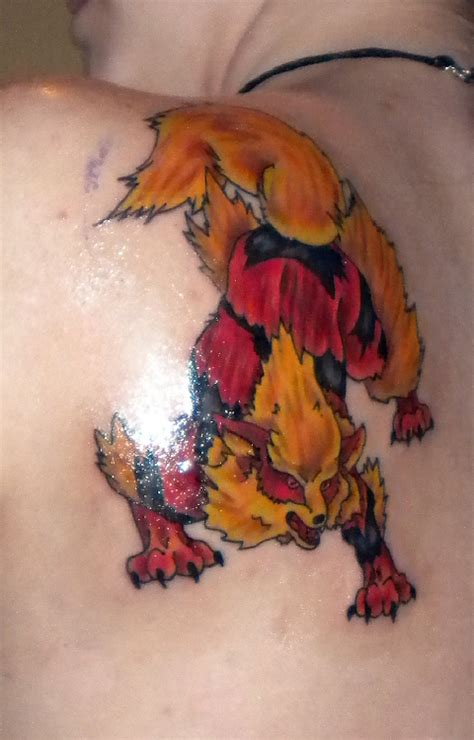arcanine tattoo arcanine by lastharliquin on deviantart