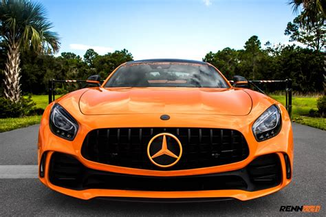 orange mercedes renntech s mercedes amg gt r is unleashed with 761hp