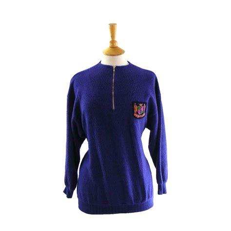 90s esprit top blue 17 vintage fashion