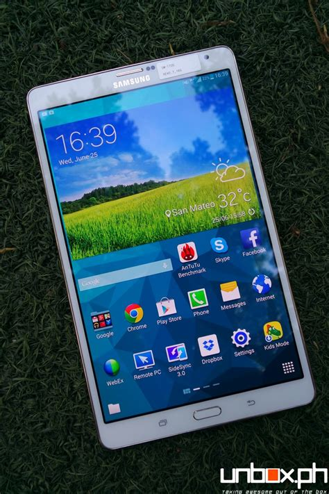 Samsung Galaxy Tab 8 4 samsung galaxy tab s 8 4 review the android tablet to