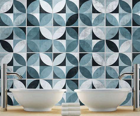 sticker tiles for bathroom tile decal mid century modern tile stickers kitchen