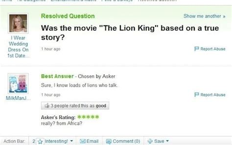 best yahoo answers questions 12 of the most questions asked on the