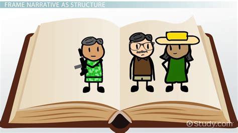 frame narrative frame narrative definition overview video lesson