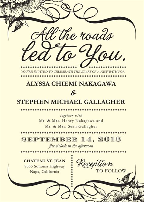 how to write wedding invitation sms 4 words that could simplify your wedding invitations huffpost