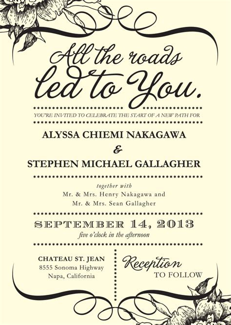 4 Words That Could Simplify Your Wedding Invitations