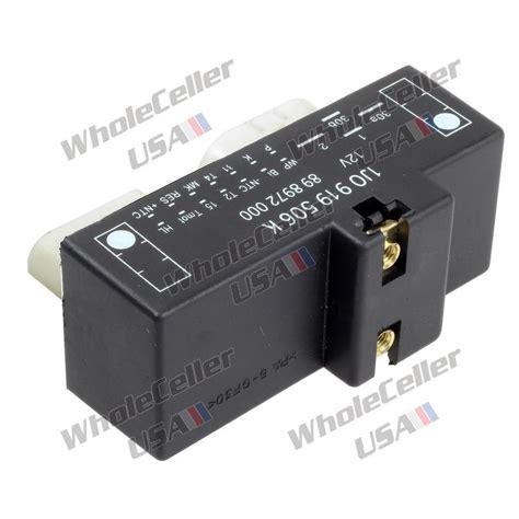 radiator fan switch new fan control unit module relay 1j0919506k for