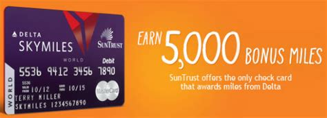 Suntrust Gift Card - ufb direct american airlines debit card archives pointchaser