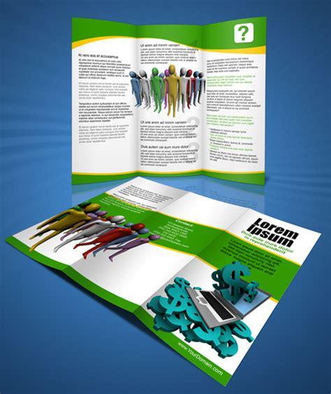 brochure templates for photoshop cs6 letter size tri fold brochure action script set