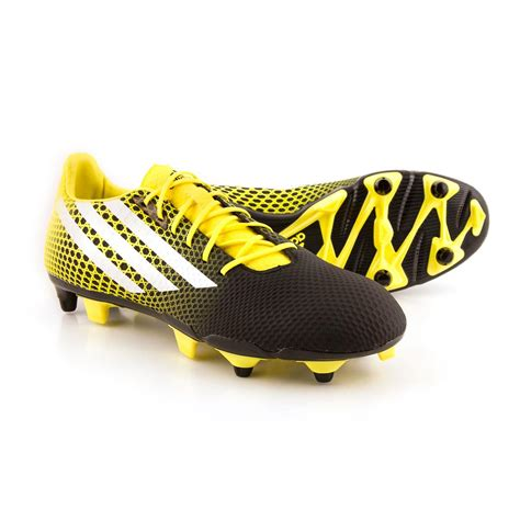 rugby boots black adidas crazyquick malice soft ground rugby boots