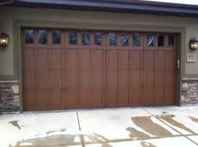 Wooden Garage Doors Ut Commercial Wooden Door Sales Service A Plus Garage Doors
