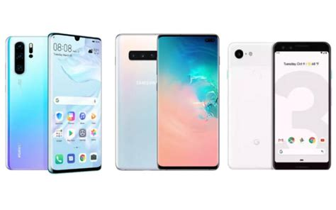 Samsung Galaxy S10 3 by Huawei P30 Pro Vs Samsung Galaxy S10 Plus Vs Pixel 3 Price In India Features Specs