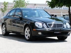 2004 Mercedes E320 4matic 2004 Mercedes E320 4 Dr E320 4matic Awd Sedan By