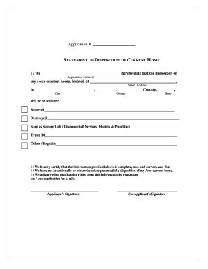 How To Get A Disposition Letter