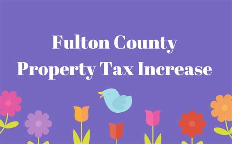 County Ga Property Tax Records Fulton County Property Tax Increase Information