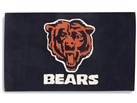 chicago bears rug nfl rug chicago bears s 11205chi uline
