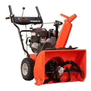 gas snow blower from ariens the home depot model 920006