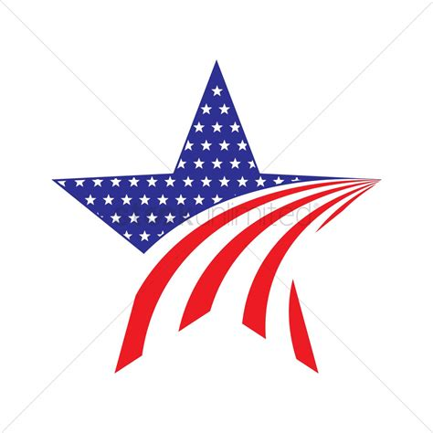American Ster american icon vector image 1502204 stockunlimited