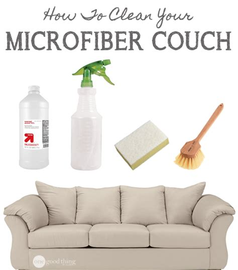 how to clean microfiber sofa at home how to clean a microfiber couch one good thing by jillee