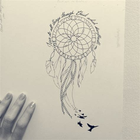 design dream birds 29 dreamcatcher tattoos with birds