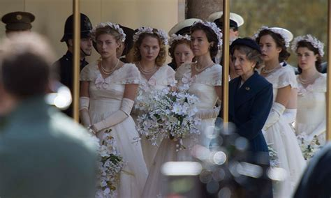 princess margaret party queen elizabeth s wedding recreated for new series the crown