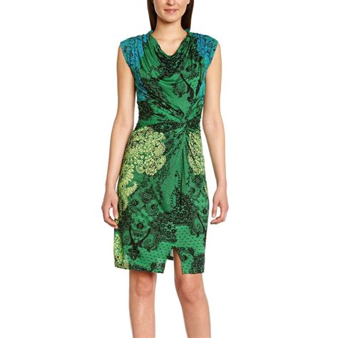 Dress Carol 3 desigual vest carol dress verde loro l born2style fashion store