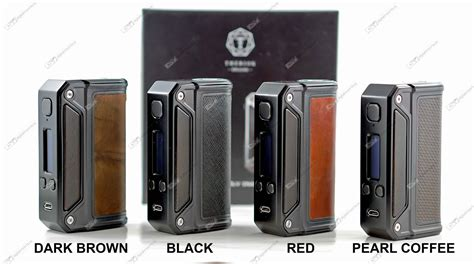 Lost Vape Therion Dna 75 Dna 133 Dna166 Custom Classic Brass 1 therion dna166 by lost vape black frame out of stock