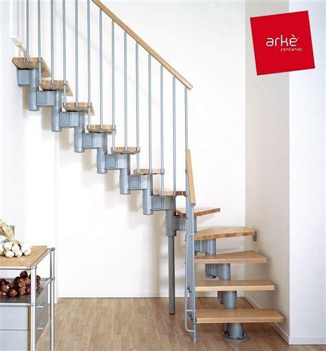 cm 1185931 house interior construction kit escalier quart tournant ark 232 kompact en m 233 tal et h 234 tre