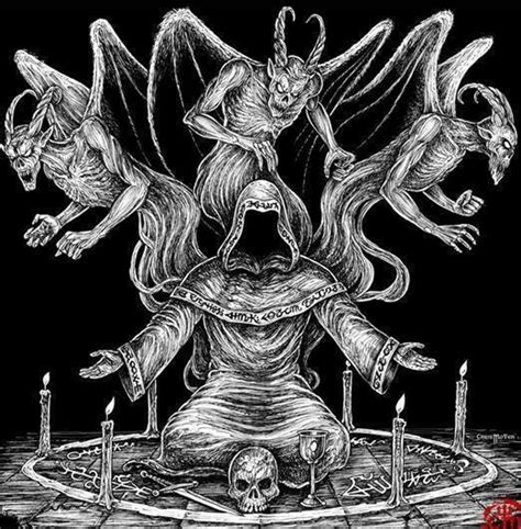 imagenes mas satanicas del black metal abusi rituali satanici