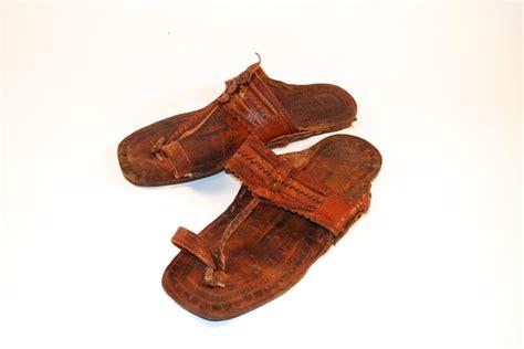 jesus sandal brown india buffalo leather sandals jesus sandals