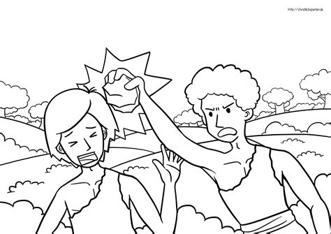 adam and eve cain and abel coloring page kain und abel ausmalen cain and abel coloring pages