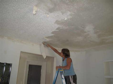 Ceiling Knockdown by Roofing Knock Ceiling Ceiling Repair Knockdown