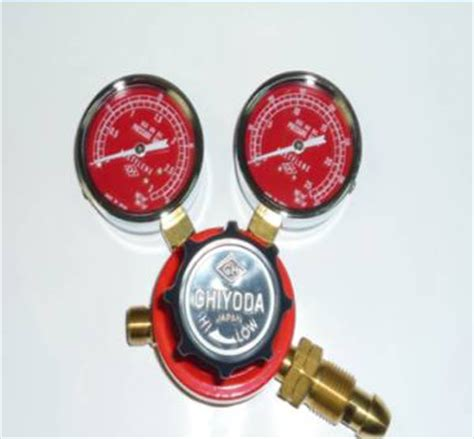 Chiyoda Regulator New Aster Acetylene manifolds