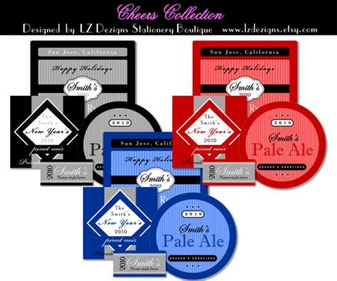 liquor label template bottle labels