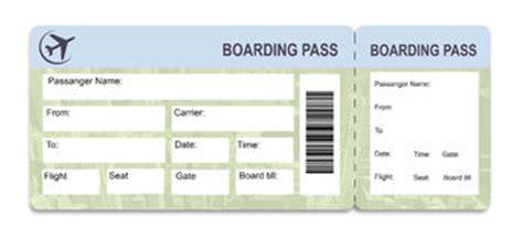 boarding pass template stock photos 25 images