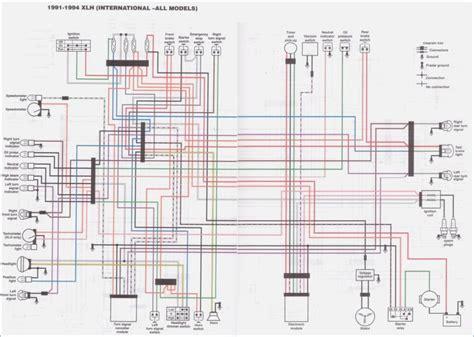 1990 883 sportster wiring diagram coil wiring diagram